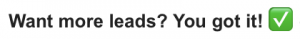 A great example of emojis in subject lines