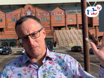 Nigel at Villa Park